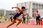 同欣体育铺设的狮山高中运动场首次亮相,助力南海区中小学生田径运动会精彩落幕!