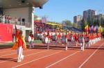 准格尔旗世纪中学体育场改建落成剪彩仪式、第十五届田径运动会圆满结束