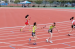 安徽省学生体育联赛赛场变身彩虹糖,同欣跑道青春洋溢
