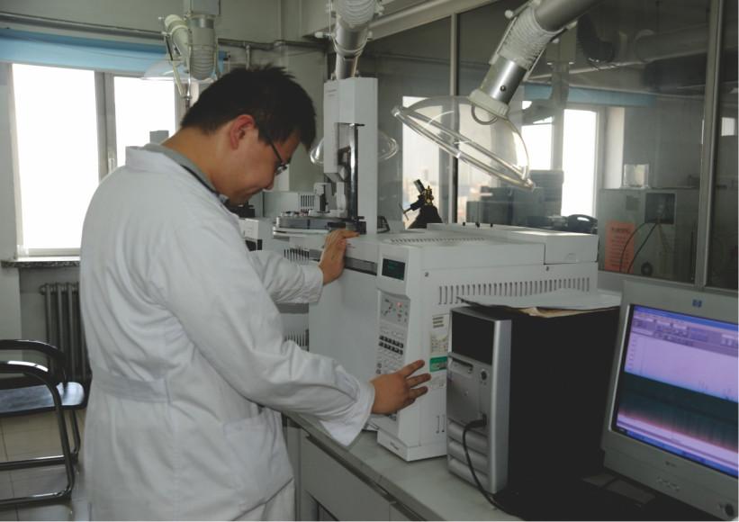 有机物含量气象色谱分析